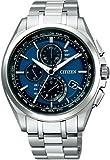 シチズン CITIZEN 腕時計 ATTESA アテッサ Eco-Drive エコ ドライブ 電波時計 ダイレクトフライト 針表示式 薄型 AT8040-57L メンズ