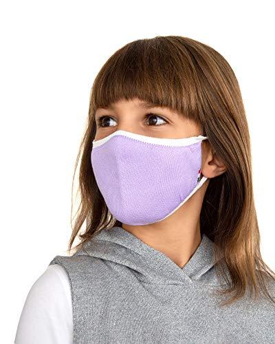 Relaxsan UNIMA KIDS [Violett] – Höflichkeitsband waschbares wiederverwendbar KINDER 6-10 JAHREN - leichtes und atmungsaktives Dryarn und X-Static