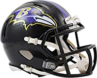 Riddell Baltimore Ravens Revolution Speed Mini Football Helmet - NFL Mini Helmets