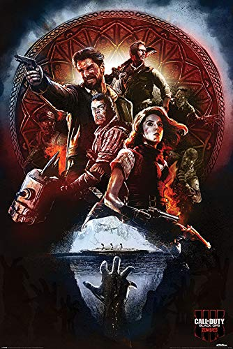 Call of Duty: Black Ops 4 (Zombies) Maxi Poster