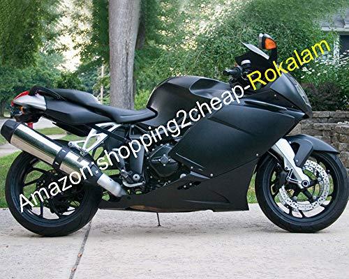 Kit de carénage complet pour moto K1200S K1200S 2005 2006 2007 2008 K 1200S 05 06 07 08 Noir mat ABS