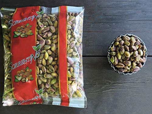 Pistacchi sgusciati crudi - OFFERTA 2 x 500g - Senza sale - Di prima qualità - SORRENTINO Fruttaseccaesalute