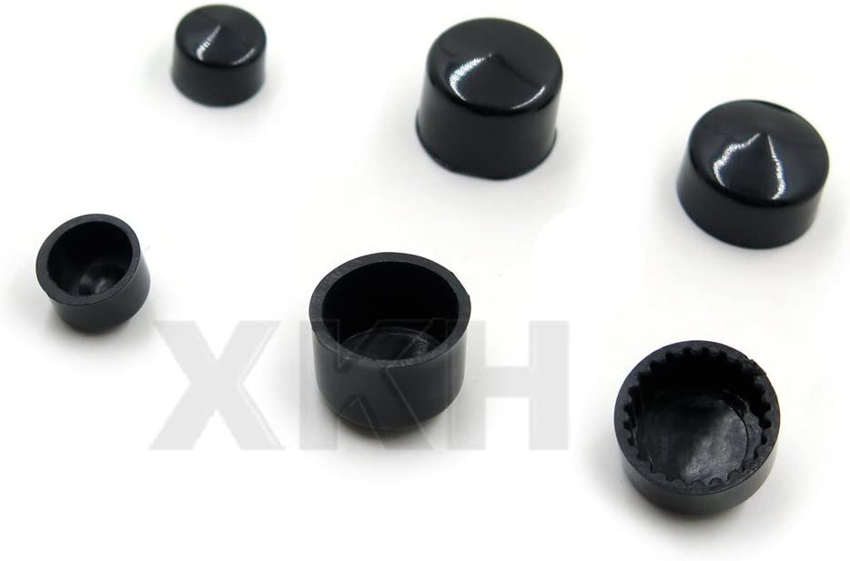 63pcs Black Caps Cover Kit Compatible with 04-15 Harley Sportster Engine /& Misc Bolt Nut B075M1MYBB XKH