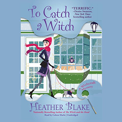 To Catch a Witch     The Wishcraft Mysteries, Book 8              By:                                                                                                                                 Heather Blake                               Narrated by:                                                                                                                                 Coleen Marlo                      Length: 7 hrs and 48 mins     169 ratings     Overall 4.7