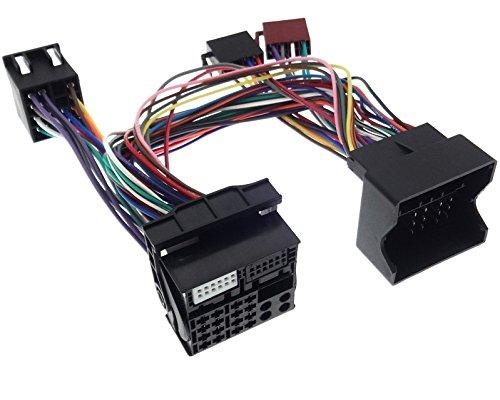Adaptador Parrot THB de 40 pines, Bluetooth, Quadlock, ISO, conector FSE HF, compatible con BMW