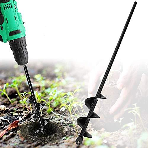 Tariere Manuelle, outil jardinage outil creuser trou terre, tarière pour perceuse plantation rapide en spirale pour la plantation de bulbes de fleurs