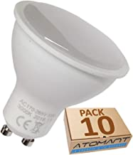 (LA) 10x GU10 LED 5W, 120 grados de apertura. Halogeno LED