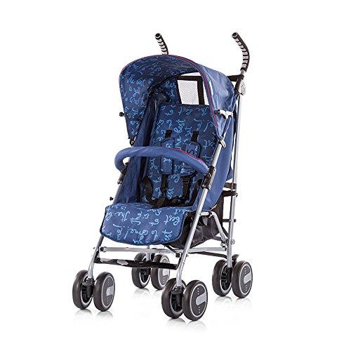Chipolino LKIR01703NA Kinderwagen Iris Buggy Rückenlehne einstellbar Getränkehalte blau