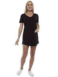 Vestido Casual de Mujer Holgado Escote en V