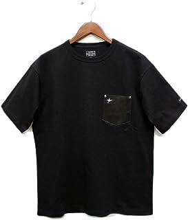 [ショット] レザーポケット半袖Tシャツ 2020モデル タフボディ スタースタッズ付き Schott LEATHER POCKET T-SHIRT
