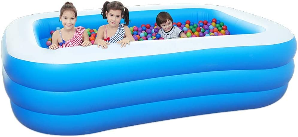 OUUED Ranking TOP14 Inflatable Family New mail order Swimming Pool up for Blow Outdoor Garden