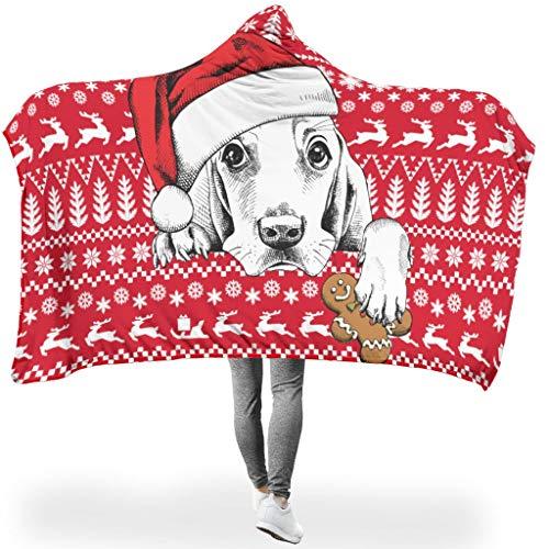 JEFFERS Christmas Animal Happy knuffeldeken / woondeken Comfort microvezel Plush polyester sofadeken / sprei deken