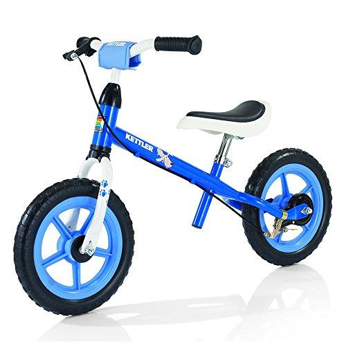 Kettler Bici Senza Pedali Speedy Pablo–Colore: Bianco–Dimensioni copertoni: 12,5Pollici, Adatta a Partire dai 2Anni
