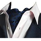 YCHENG Pañuelo Hombre Corbatas Lujo Ratán Impresión Cravat Chalina para Banquete Boda Fiesta B01