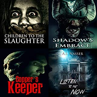 Slaughter Series, Books 1-3, Bonus Edition     Scary Horror Story with Supernatural Suspense              By:                                                                                                                                 A. I. Nasser,                                                                                        Scare Street                               Narrated by:                                                                                                                                 Jake Urry                      Length: 20 hrs and 39 mins     13 ratings     Overall 4.2