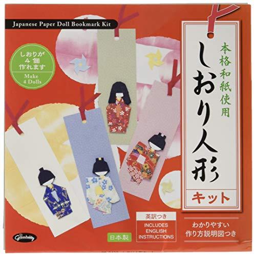 Origamipapier Washi-Puppen 28-3432 Lesezeichen-Bastelset mit Anleitung