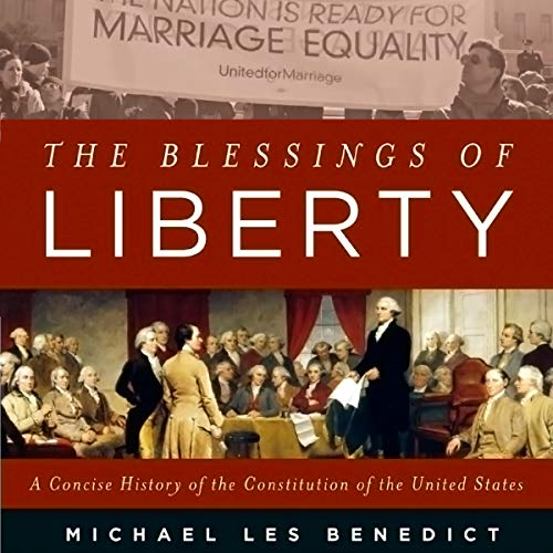 The Blessings of Liberty audiobook cover art