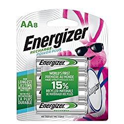 top 10 energizer battery charger Energizer NH15BP-8AA Battery, 2300 mAh, Precharge, 8 Units (Recharge Power Plus)