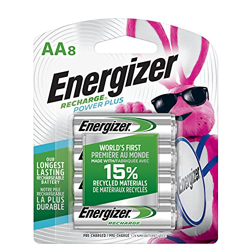 Energizer NH15BP-8 Rechargeable AA Batteries