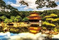 1000ピース ジグソーパズル 金閣寺 (49x72cm)