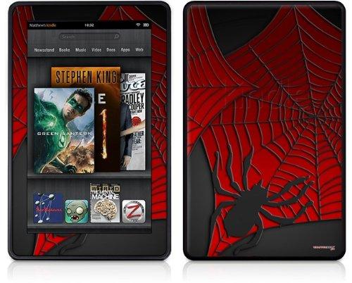 WraptorSkinz Amazon Kindle Fire (Original) Decal Style Skin - Spider Web