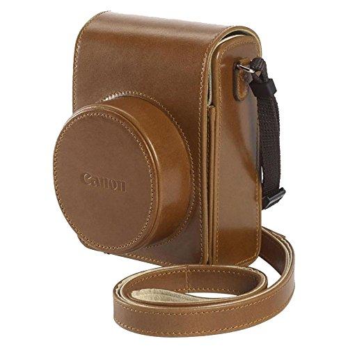 Canon DCC-1820 Custodia Morbida per PowerShot G1X MK2, marrone
