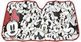 Plasticolor 003786R01 Disney Minnie Mouse Expressions Accordion Bubble Sunshade