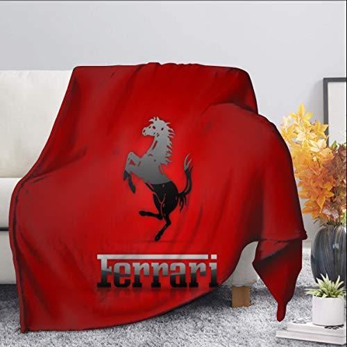 Ferrari Mantas para sofá cama, colcha, manta de forro polar, abrazo y cómodo