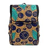 Mokale Linea di vettore di Acai delle bacche di concetto del modello,Zaino Borsa da viaggio da trekking College Student School Bookbag Viaggio Daypack per uomo o donna