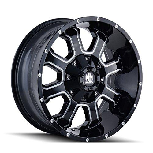 "Mayhem Fierce Wheel with Milled Finish (20x10""/5x87.122mm, -19mm offset) -  8103-2152M"