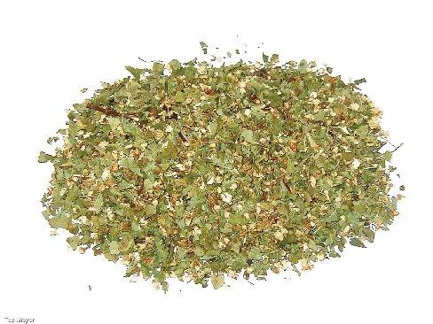 Weissdornblätter mit Blüten Tee 1 kg Vorratspack Tee-Meyer
