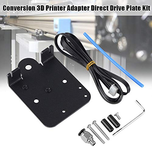 3D Printer Extruder Direct Drive Plate Conversion Kit voor Creality Ender-3, Pro & CR-10 3D Printers, Compatibel met V-Slot Lineaire Gidsen
