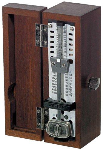 ウィットナー 木製メトロノーム スーパーミニタクテル 木製ケース マホガニー 880210