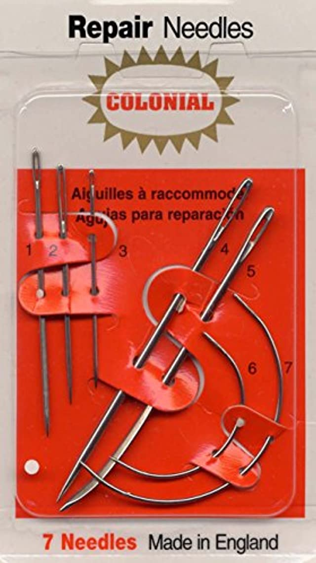 Colonial Needle 7 Count Household Repair Needle Set