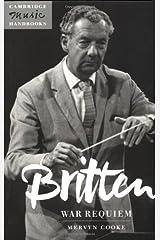 Britten: War Requiem Paperback
