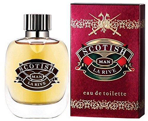 LA RIVE Scotish Man, Eau de Toilette, 2er Pack (2 x 90 ml)