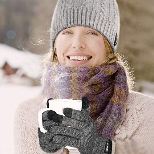 4UMOR Winterhandschuhe (Strick)