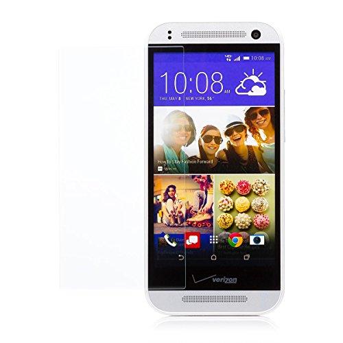 iCues HTC One Mini 2 - M8 Mini |  Panzerglas Klar | Full Screen Schutz Panzerglasfolie Tempered Glass Glasfolie Bildschirm Glas Protector Glasschutzfolie Panzer Folie Schutzfolie Schutzhülle Hülle Cover Schutz