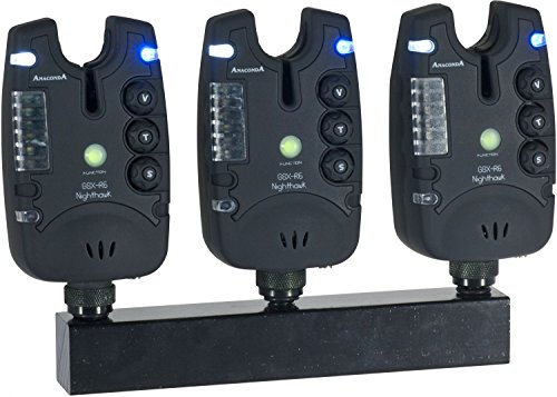 Sänger Top Tackle Systems Anaconda Nighthawk GSX-R6 Bißanzeiger - Funkset (4er)