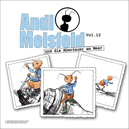 Andi Meisfeld und die Abenteuer am Meer audiobook cover art