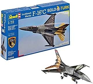 Revell Maqueta Lockheed Martin F-16 C Solo Türk, Kit Modello, Escala 1:72 (4844) (04844), Multicolor