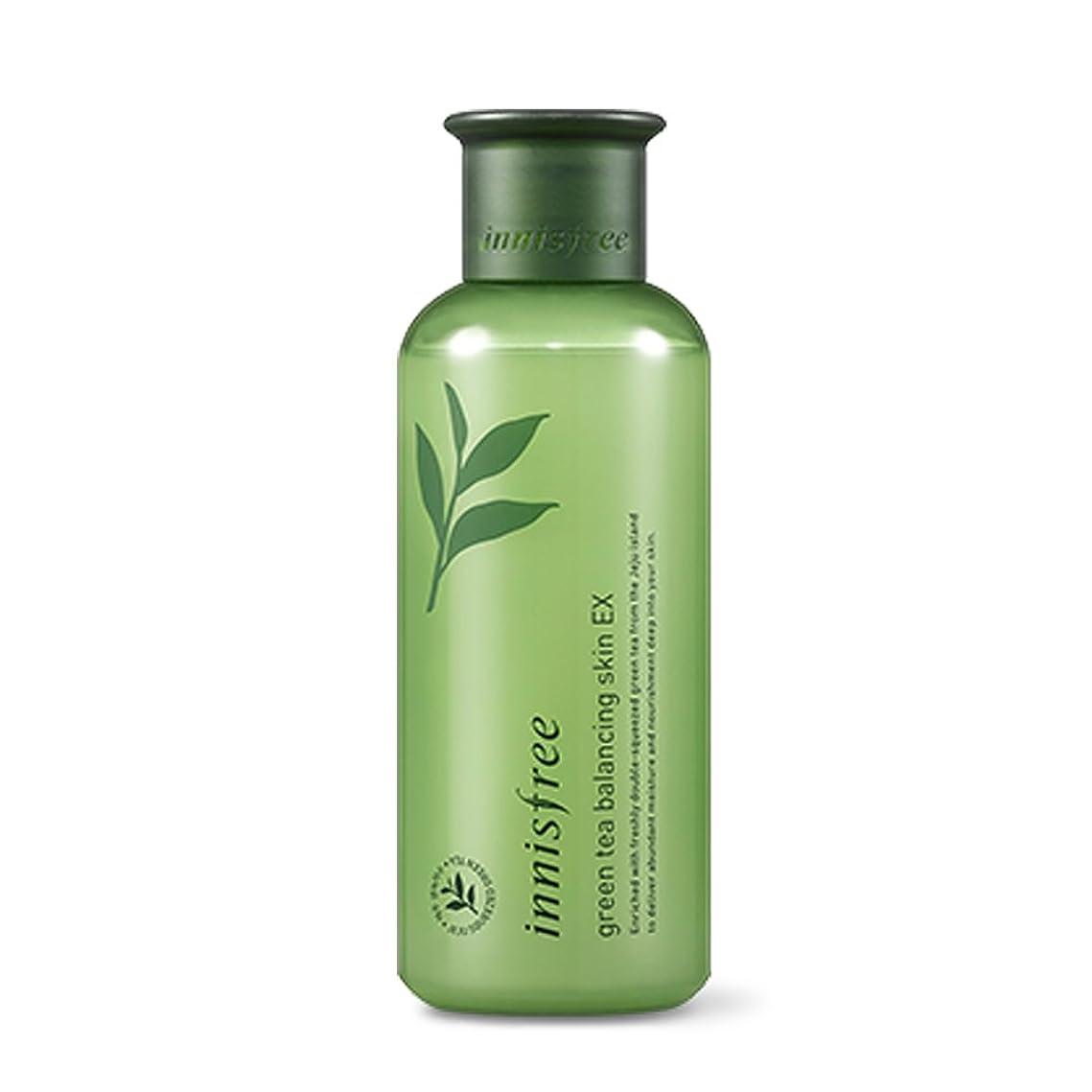 ワックス水没市民権イニスフリーグリーンティーバランシングスキン(トナー)200ml Innisfree Green Tea Balancing Skin(Toner) 200ml