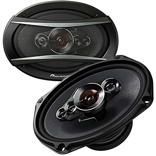 Pioneer TS-A6996S 6'x9' Series 6 Inch X 9 Inch 650W 5-Way Coaxial Car Stereo Speakers - (2 Speakers)