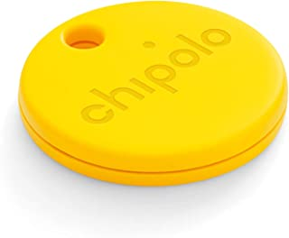 $23 » Chipolo ONE (2020) - Loudest Water Resistant Bluetooth Key Finder (Yellow) (Renewed)