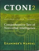 CTONI2, Comprehensive Test of Nonverbal Intelligence, Examiner's Manual
