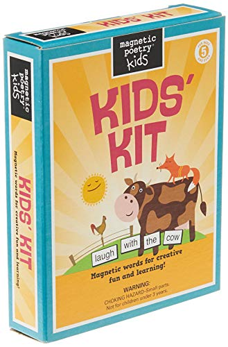 Magnetic Poetry - Kids Kit - Ages 5 and Up - Words for Refrigerator - Write...