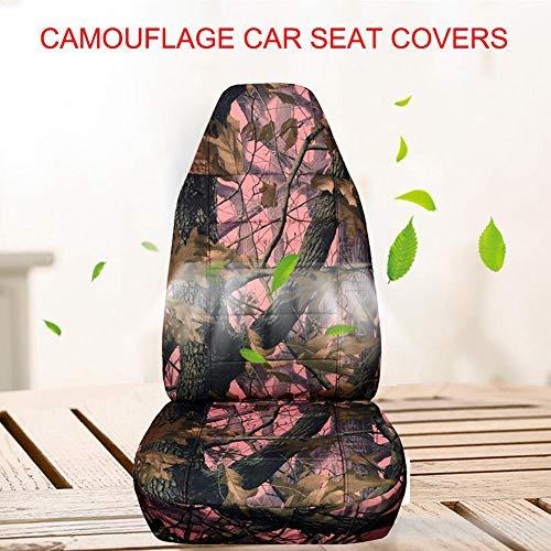 juman634 Universal Automotive Seat Cover Camouflage Seat Cover Seat Avant de siège arrière pour véhicules Tout-Terrain SUV
