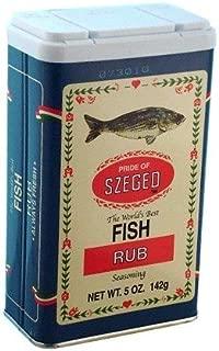 Szeged Fish Rub ( 5oz / 142 G )