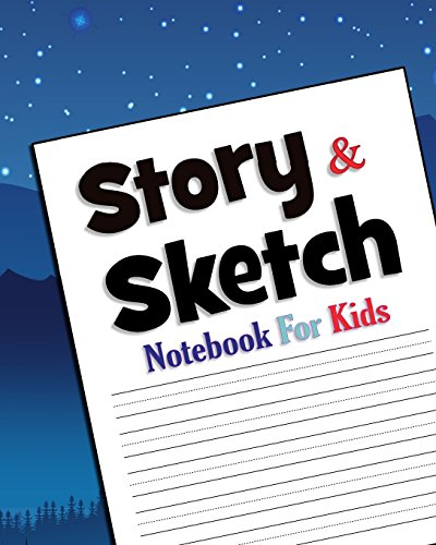 Story & Sketch: Notebook For Kids - 8
