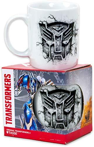 MMedia Transformers 4 - Taza (250 ml)